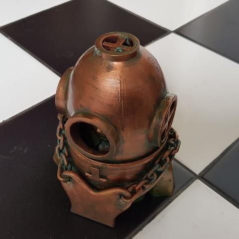 Download 3D print files Diver., Alphonse_Marcel