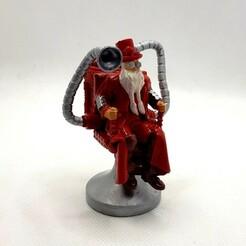 Steampunk_Santa_Claus_012c.jpg Download STL file Steampunk Santa Claus. • Design to 3D print, Alphonse_Marcel