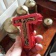 3D printer files Letter T Steampunk, Alphonse_Marcel