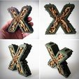 Download 3D printing files Steampunk letter Z, Alphonse_Marcel