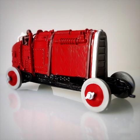 Descargar modelos 3D para imprimir Steampunk Roadster., Alphonse_Marcel