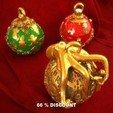 3D printer models Christmas decorations., Alphonse_Marcel