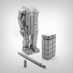 Download STL file Robotic bundle pack., Alphonse_Marcel