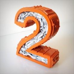 Imprimir en 3D Steampunk número 2, Alphonse_Marcel