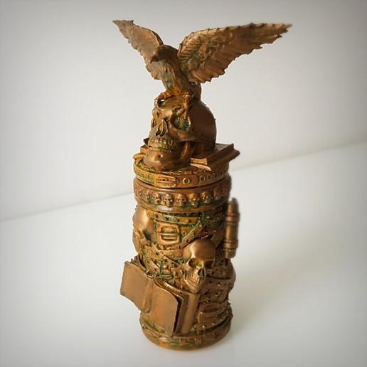 Descargar archivos 3D Caja gótica, Alphonse_Marcel