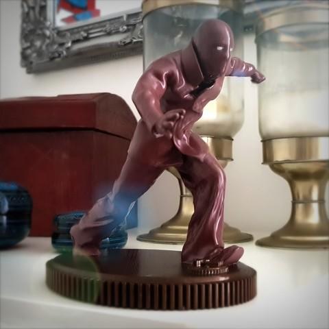 3D print model Superhero vintage. The Immortal., Alphonse_Marcel
