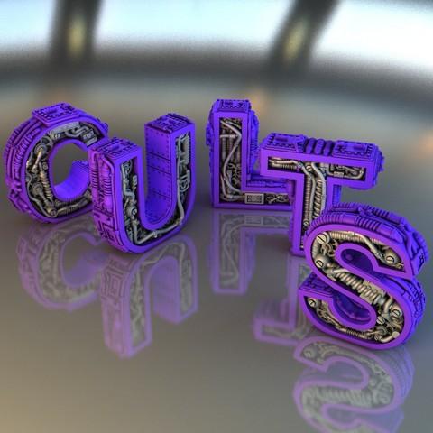 Descargar archivo 3D gratis Steampunk Letter C.U.L.L.L.T.S., Alphonse_Marcel