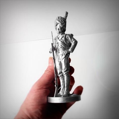 Télécharger objet 3D Imperial guard of Napoleon., Alphonse_Marcel