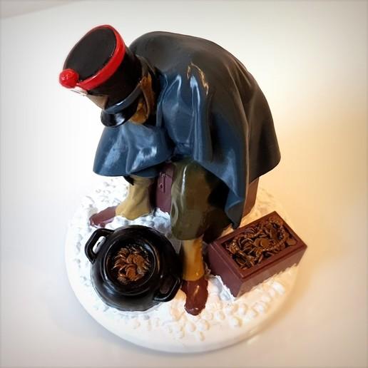 Télécharger STL Berezina Napoleon soldier, Alphonse_Marcel