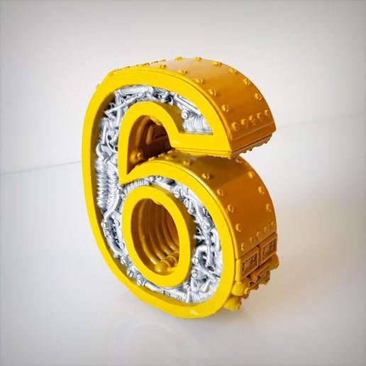 Télécharger fichier impression 3D Steampunk number 6, Alphonse_Marcel