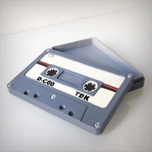 Imprimir en 3D Caja de casete de audio., Alphonse_Marcel