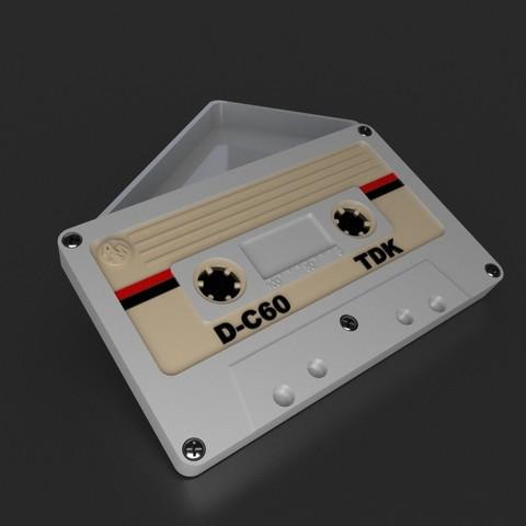 3D print model Audio cassette box., Alphonse_Marcel
