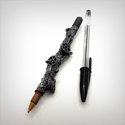 Download 3D model Steampunk Pen. Steampunk Pen., Alphonse_Marcel