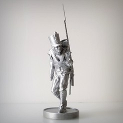 Download STL files NAPOLEON INFANTRY OBSERVATION, Alphonse_Marcel
