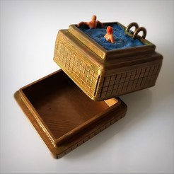Swimming_Box_Vignette_Ret_03.jpg Download STL file Steampunk swimming box. • 3D printer design, Alphonse_Marcel