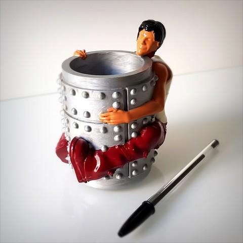 Download 3D printing files Anikei pen holder., Alphonse_Marcel
