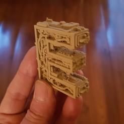 3D print files Alphabet Letter E Steampunk, Alphonse_Marcel
