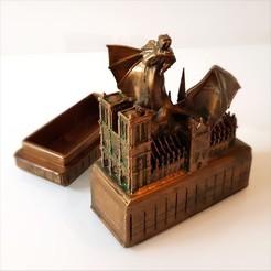 Télécharger STL gratuit Dragon et Notre-Dame., Alphonse_Marcel