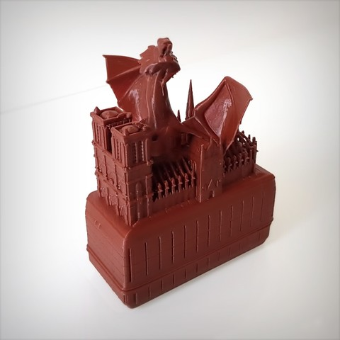Modelos 3D gratis Dragón y Notre Dame., Alphonse_Marcel