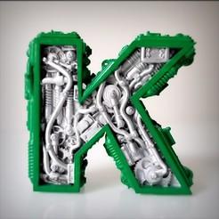 Télécharger fichier imprimante 3D Steampunk Alphabet, Alphonse_Marcel