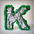 Imprimir en 3D Alfabeto Steampunk, Alphonse_Marcel