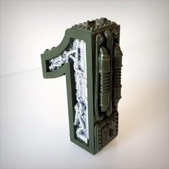 Télécharger fichier STL Pack Steampunk number , Alphonse_Marcel