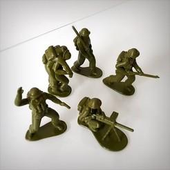 Download STL British soldiers pack, Alphonse_Marcel