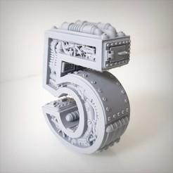 Download 3D printer files Pack Steampunk number, Alphonse_Marcel