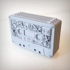 3D print model Steampunk audio cassette box., Alphonse_Marcel