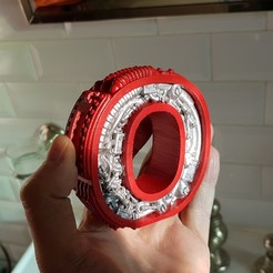 3D print model Steampunk letter O., Alphonse_Marcel