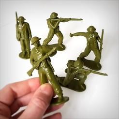 Télécharger fichier imprimante 3D British soldiers pack, Alphonse_Marcel