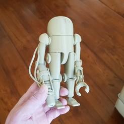 3D printer files Steampunk robot., Alphonse_Marcel