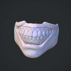 twisty.jpg Download STL file Mask of twitsy the clown • 3D printing object, Monsieur_H