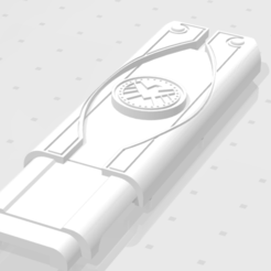 Download STL Winter Soldier Flash Drive - USB Key, EnzoZarx