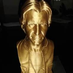 Free 3D printer model Han Solo Bust, juliocjc