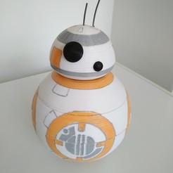 Descargar archivo 3D gratis El robot BB8 de Star Wars, ericrin59