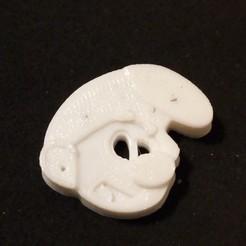 Modelos 3D gratis botón de cabeza de pitufo, ericrin59