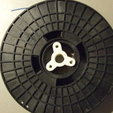 3D print files Spool Holder Hub Adapters, PlanetBlue