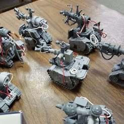 Descargar Modelos 3D para imprimir gratis mek gunz usando tanques de gruta, JtStrait72