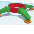 turantula_legset.png Download free STL file Automated Weapon Platform Mod kit (Tarantula) • Model to 3D print, JtStrait72
