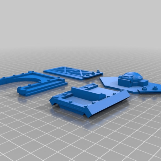 1933663be32416149de603a675a68964.png Download free STL file Big Plasma Cannon Turret • 3D printing design, JtStrait72