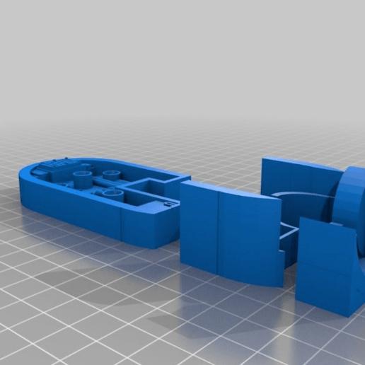 465532367ca69605da47b9c9db7d037a.png Download free STL file Big Plasma Cannon Turret • 3D printing design, JtStrait72