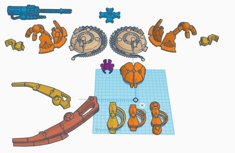 dl_parts_3.png Download free STL file Serap-ta-tek BMF walker for Iron Undead • 3D printer model, JtStrait72