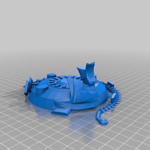 8d4d940b0d62dedd5f156fe6a8f62c80.png Download free STL file Serap-ta-tek BMF walker for Iron Undead • 3D printer model, JtStrait72