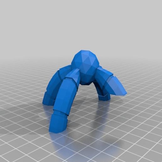 df1fda4c9dad868c02e345de2cf241a2.png Download free STL file Serap-ta-tek BMF walker for Iron Undead • 3D printer model, JtStrait72