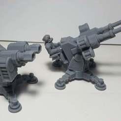 Impresiones 3D gratis Torreta de la pistola de sable, JtStrait72