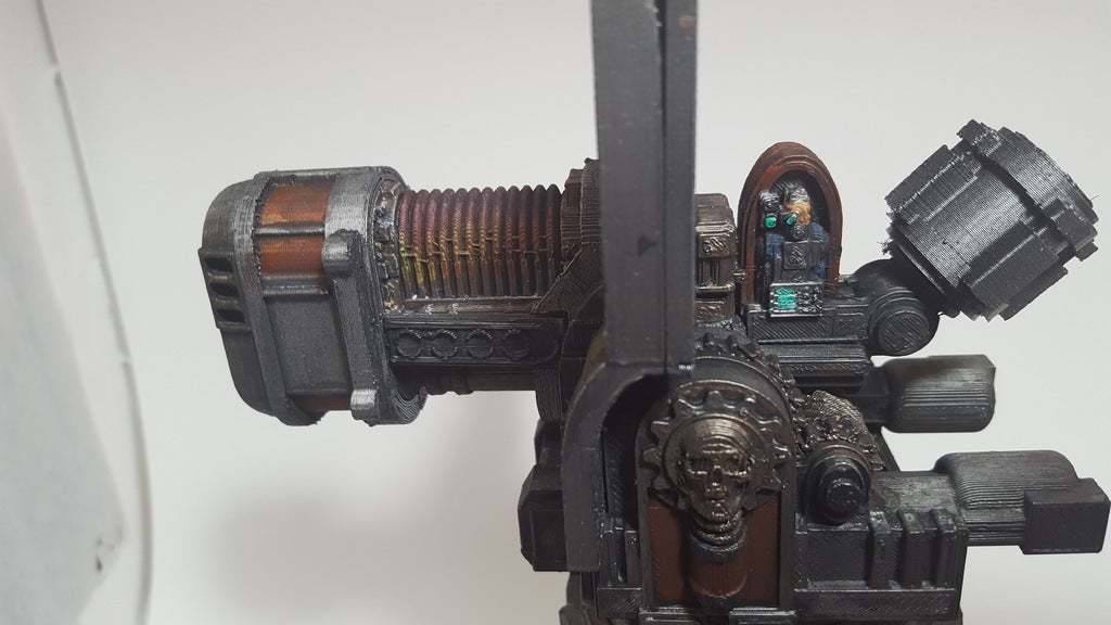 30952105224_0a7d445415_o.jpg Download free STL file Big Plasma Cannon Turret • 3D printing design, JtStrait72