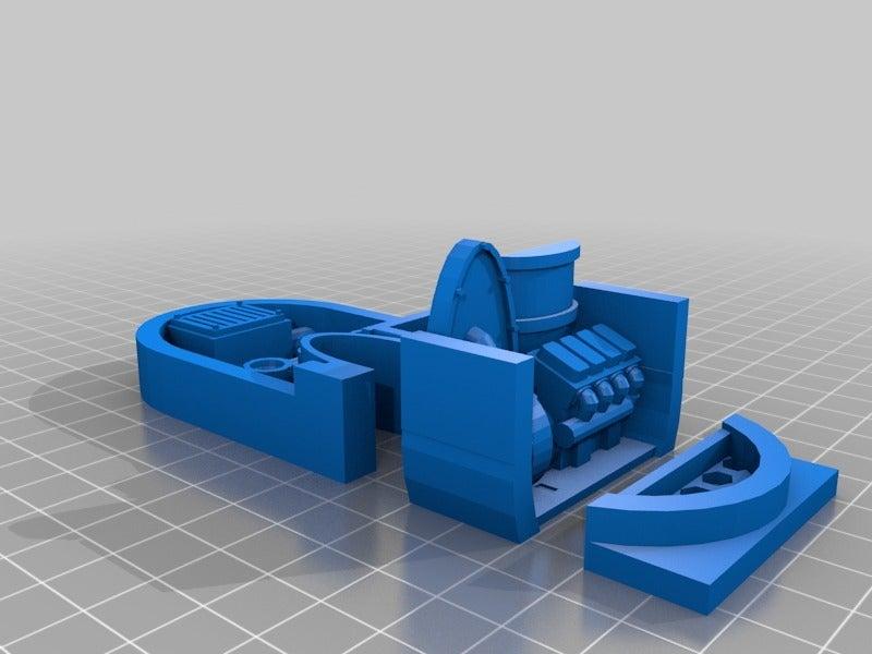 da484bfb5b5ca75f4b3a8cf04bea7732.png Download free STL file Big Plasma Cannon Turret • 3D printing design, JtStrait72
