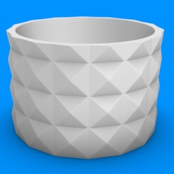 Download STL file Planter - Geometrical pot • 3D printable object, Nicolaspelayo1