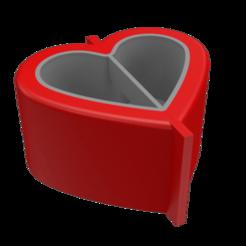 molde 2 axo 1.png Download STL file Heart pot mould heart • 3D printing template, Nicolaspelayo1